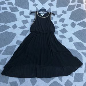 Sans Souci black high/low formal dress